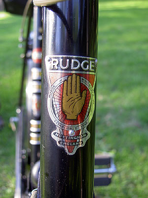 Rudge Headbadge