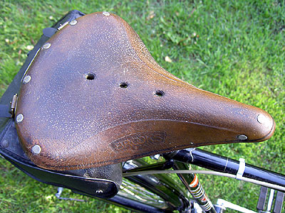 The Handjob's Brooks saddle