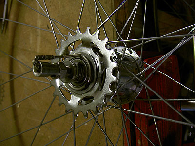Matt's 1967 Sturmey-Archer AW hub