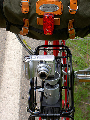 Tail Camera for Three Speed Tour