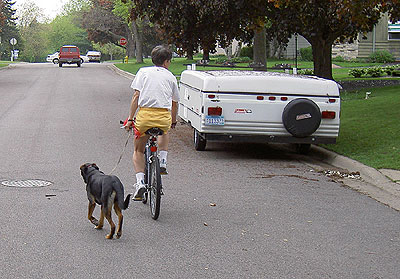Walking the Dog  May 2005