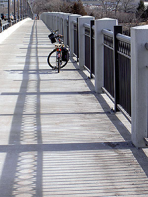 Marin Bicycle on Ford Bridge  February 2006
