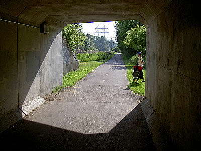 Luce Line tunnel under I-494
