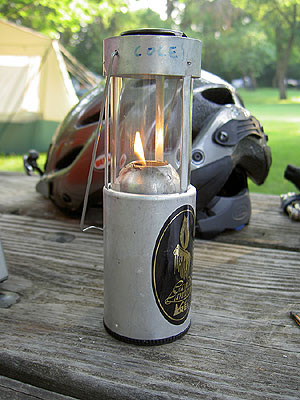Candle Lantern in Daylight
