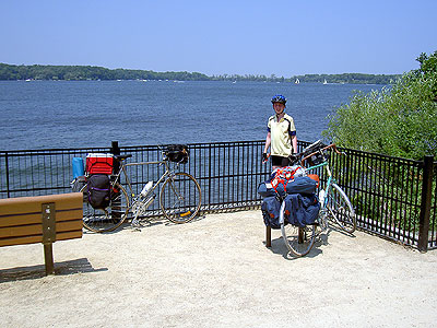 Henry at Lake Minnetonka overlook