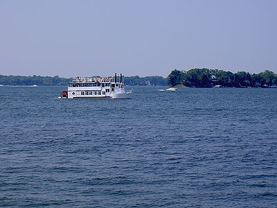 Tour Boat on Lake Minnetonka