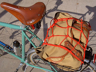 Camera bag in Topeak basket