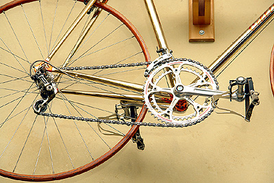 Drivetrain of Cellini bike