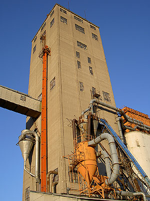 Grain Elevator along Transitway