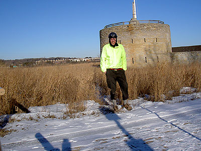 Me at Fort Snelling  February 2006