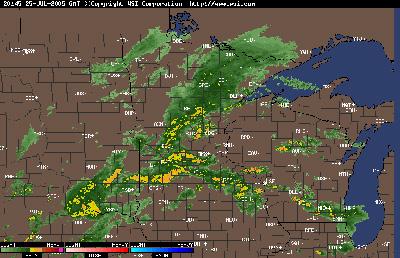 Minneapolis Radar July 25th