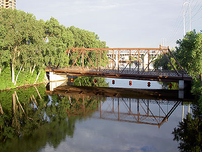 Nicollet Island Bridge II
