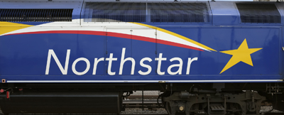 Northstar logo on engine in Big Lake