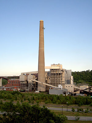 Power Plant on Mississippi
