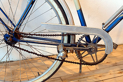 The drivetrain on the men's Rabeneick