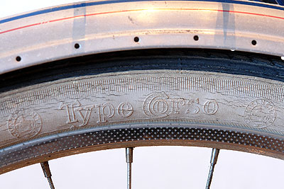 Continental Type Corsa tire on Ladies' Rabeneick