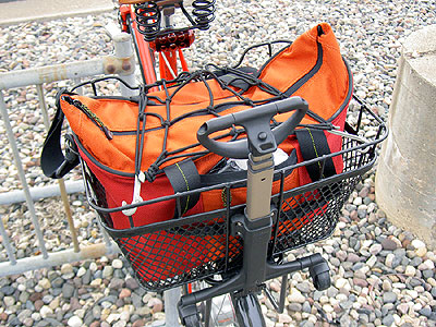 Topeak Rear Basket and Rack on Schwinn