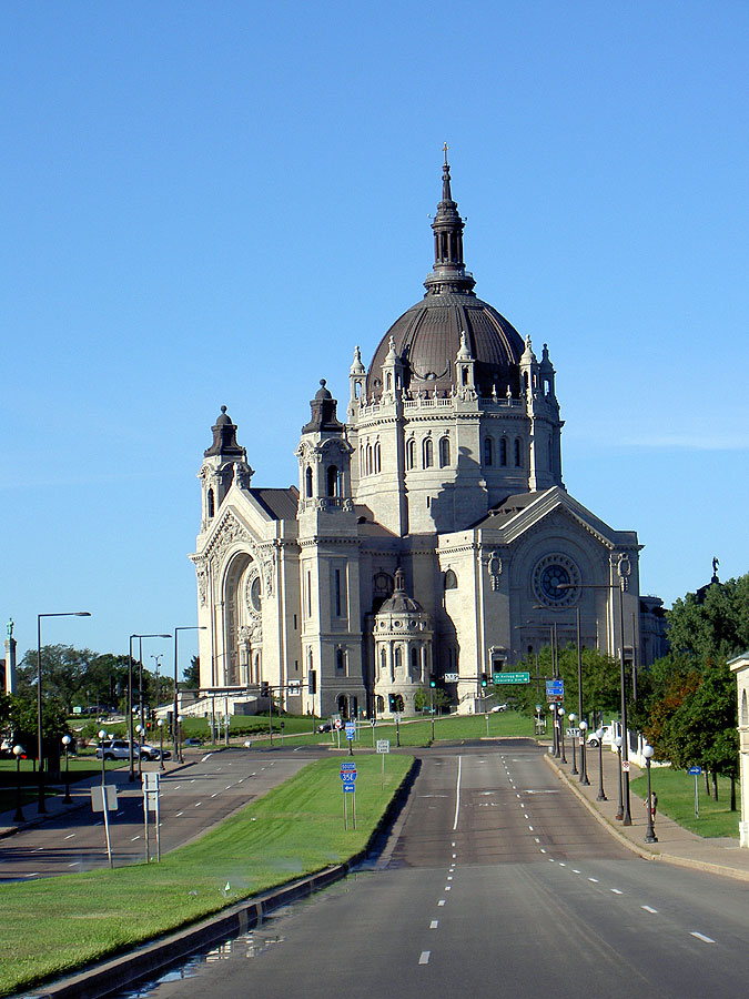 Cathedral of St. Paul - Attraction - Cathedral of St Paul, Summit Ave, St Paul, MN