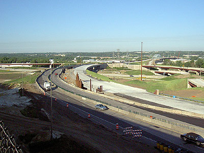 Eastern approaches to Wacota Bridge work at I-494/Hwy 61
