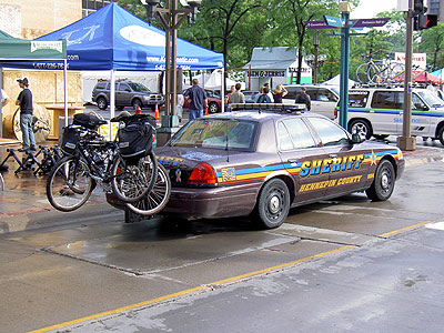 Hennepin County Sheriff bike squads