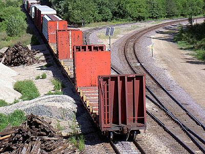Solar Panel on Railroad