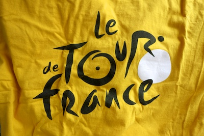 Official Tour de France t shirt from the 2009 Tour