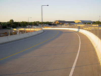 Intercampus Transitway Bridge