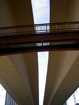 Underside of Wabasha Street Bridge