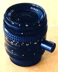 Nikon 35mm f/2.8 PC lens, unshifted