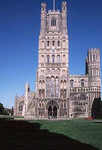 West Front, Ely Cathedral