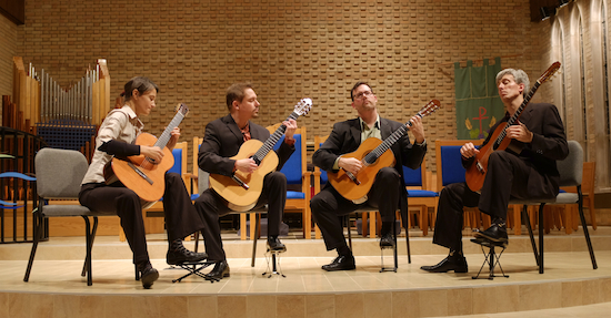 Minneapolis Guitar Quartet at St. Christopher's 10/4/13