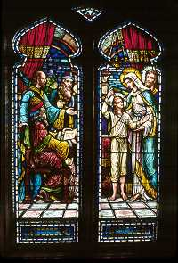 Stained Glass, East Wall, Saint Mary's Episcopal Church, Saint Paul