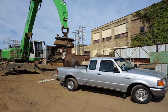My Ranger at the scrapyard 9/30/13